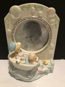 Baby's Special Moment Rub-a-Dub-Dub Bath Time Frame Hallmark New No Box
