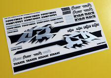 RC 10th scale FAST AND FURIOUS MITSUBISHI EVO stickers decals TOKYO DRIFT
