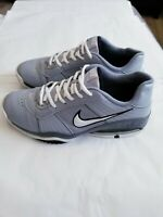 Nike Air Max Full Court Men's Shoes, Size US 8.5, UK 7.5, Gray And White Color,