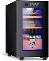 [NEW] Audew Cigar Cooler Humidor 150 Capacity Spanish Cedar Wood Shelves/Tray