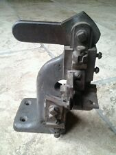 ANCIEN OUTIL MACHINE  CORDONNIER BOURRELIER/COLLECTION/AUTRE
