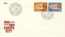 Ersttagsbrief Schweiz MiNr. 900-901 - Europa