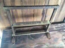 Antique Sensible # 12 Butcher / Country Store Paper Roller / Wrap , Shabby