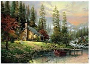 Cottage Wild Nature Oil Painting Paint By Numbers Kit Acrylic Kids Beginners DIY