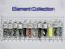 Element collection -  Set of 12 ampoules Silicon Chromium Vanadium Cobalt Iron