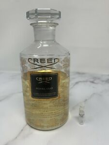 Creed Royal Oud - 2017 BATCH - 1ML Sample - NOT Aventus