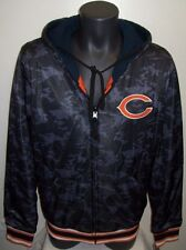 CHICAGO BEARS BLACK OPS CAMO Reversible Poly/Fleece Hoody Jacket CAMOUFLAGE XXL