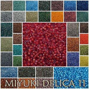 Delica 11/0 Miyuki Seed Beads 1758-1793