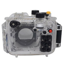 Mcoplus 40m/130ft Underwater Housing Waterproof Camera Diving Case for Canon G16