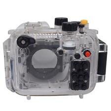 Mcoplus 40m/130ft Custodia subacquea fotocamera impermeabile subacquea Custodia per Canon G16