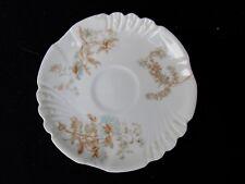 """Antique - Floral Pattern - J P L Limoges France - 4 1/2"""" Saucer"""