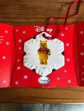 Vintage Goebel Disney Winnie Pooh Collectible Porcelain Christmas Ornament New