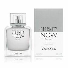 Calvin Klein Eternity Now For Men 100ml EDT Spray Retail Boxed Sealed