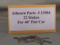 Athearn Parts - 40' Flat Car Stakes - Part # 13504