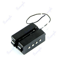 Black 4 String Noiseless Pickup Set For Precision Bridge P Bass Pickup Set