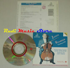 CD JANOS STARKER Violoncello BACH COUPERIN HAYDN SHOSTAKOVICH ermitage lp mc dvd