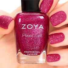 ZOYA PixieDust ZP702 ARABELLA pink matte sparkle nail polish lacquer~PIXIE DUST