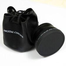 55mm 0.45x Wide Angle Lens Converter+Macro Lens For Canon Nikon 55mm Lens