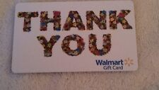 NEW Unused Walmart Thank You Flowers Valentines  Gift Card COLLECTIBLE NO VALUE