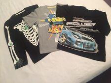 3 Boys shirts age 9/10 - 2 x short sleeve & 1 x long sleeve - 2 x M&S 1 x C&A
