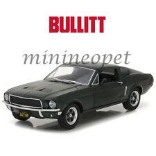 GREENLIGHT 84041 BULLITT 1968 FORD MUSTANG GT FASTBACK 1/24 STEVE MCQUEEN GREEN