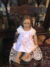 """Annette Himstedt 26"""" Fiene Doll ~(Read) Vinyl Doll ~ 1990/91 W/Box &COA"""