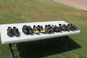 Men's Cycling Shoes Lot of 7 Pair USED ..... 5_Day Auction ... SIDI Carnac More