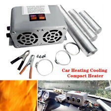 12V 600W-800W Car Heating Cooling Compact Heater Fan 3 Hole Defroster Demister