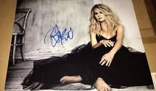 Britt Robertson Sexy Actress Hand Signed 11x14 Autographed Photo COA Look BR