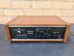 Monarch SA-600 Rare Beautiful Amplifier From 1970's