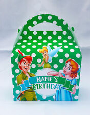 Peter Pan and Wendy Children's Personalised Party Boxes Favour 1ST CLASS POST