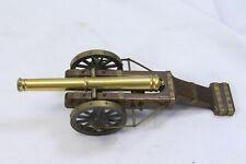 Pocher Torino Cannon Brass Wood Field Artillery Italy Italian 2 Wheel