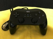 Nintendo Wii & Wii U Official Classic Controller Pro black color 005 F/S