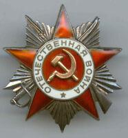 UdSSROrden des Vaterländischen Krieges.2-Kl.Nr.-62827.Silber.Original-100%