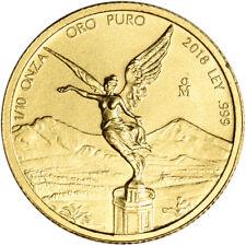 2018 Mexico Gold Libertad (1/10 oz) 1/10 Onza - BU