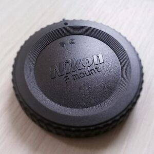 Nikon F Body cap for DSLR/FILM Cameras. U.S. Seller. Fast shipping. 100% FB!!