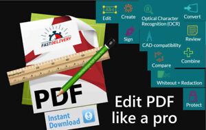 ✔ Acrobat Alternative PDF Pro Creator-Editor-Reader-Viewer-Converter