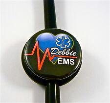 ID STETHOSCOPE NAME TAG, EMS,EMT,PARAMEDIC, RN, NURSE, ICU, CCU, TECH, DR.ER