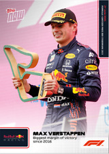 ➠ Topps Now Formula 1 #23 Max Verstappen - Biggest margin of victory   Red Bull