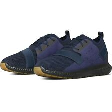 Under Armour Threadborne Shift Heathered Navy Mens Running Shoes Size 12
