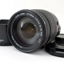 【Excellent】Sigma AF 18-250 mm f/3.5-6.3 DC OS HSM Lens For NIKON 638660