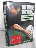 The Game The Goal The Grant Fox Story SIGNED COPY First Edition NZ All Blacks