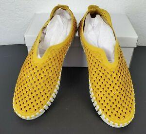 ILSE JACOBSEN Size 9 Golden Rod Tulip 139 Slip-on Shoe NIB