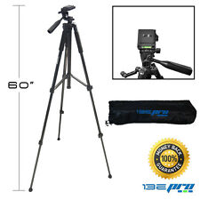 I3ePro Full Size 60-inch Tripod W Swivel Feet & Tripod Carry Case for SLR Camera