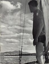 Vintage Issue of The New Hampshire Troubadour for August 1940