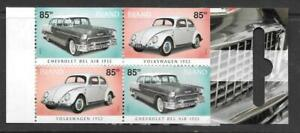 ICELAND - 2004.  Cars - 340k. Booklet (4 x 85k)
