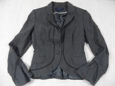 MEXX chices modisches Kostüm grau gestreift Gr. 36/38 TOP 918