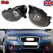 A Pair of Front Lower Fog Light Foglamp Halogen For AUDI A3 8P 04-08 Q7 4L 07-09