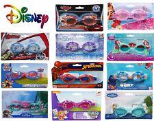 Official Disney Swimming Goggles Frozen Elsa Anna Junior Children Kids Avengers