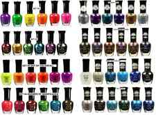 12 pcs Kleancolor Neon Metallic 3D Textured Glitter Nail Polish Lacquer U Pick